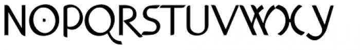Anchor Bold Font UPPERCASE