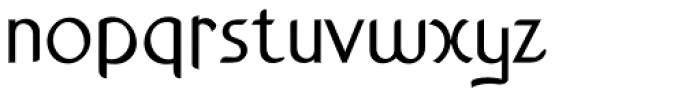 Anchor Bold Font LOWERCASE