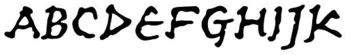 Ancient Astronaut Font UPPERCASE