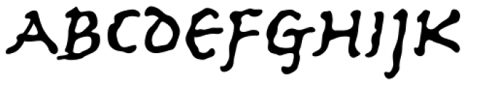 Ancient Astronaut Font LOWERCASE