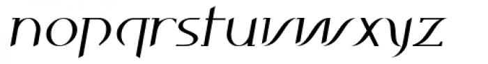 Ancora Bold Italic Font LOWERCASE