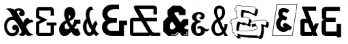 And So Forth JNL Font UPPERCASE