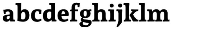 Andada ht Pro Bold Font LOWERCASE