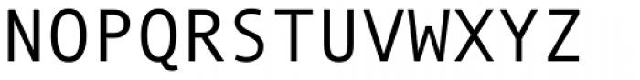 Andale Mono Pro Regular Font UPPERCASE