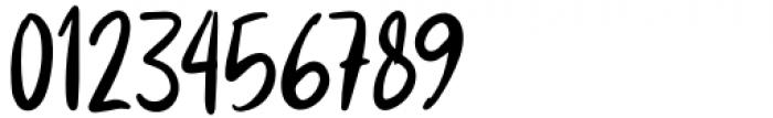 Andaretta Regular Font OTHER CHARS