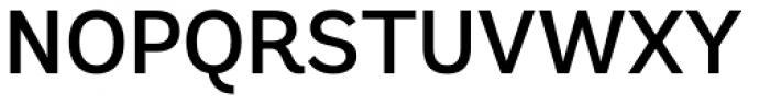 Andes Medium Font UPPERCASE