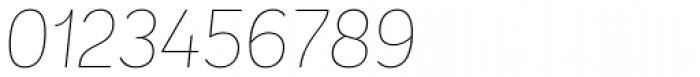 Andes UltraLight Italic Font OTHER CHARS