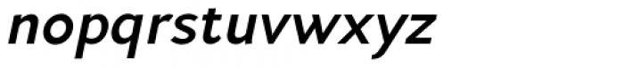 Andis Bold Italic Font LOWERCASE