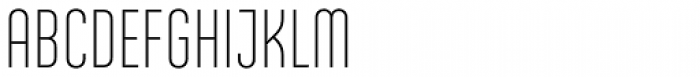 Ando Light Font UPPERCASE