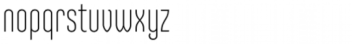 Ando Light Font LOWERCASE