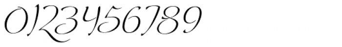 Andovai Italic Font OTHER CHARS