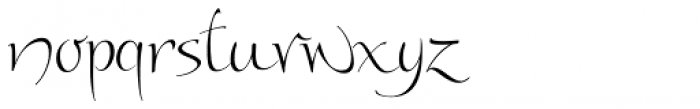 Andovai Font LOWERCASE