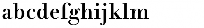 Andrade Bold Pro Font LOWERCASE