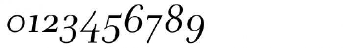 Andrade Italic Font OTHER CHARS