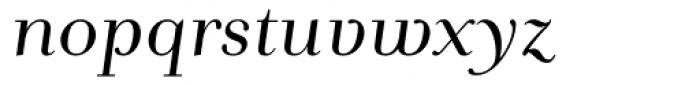 Andrade Italic Font LOWERCASE
