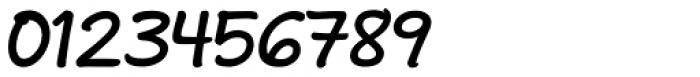Andrea II Print Slant Bold Font OTHER CHARS