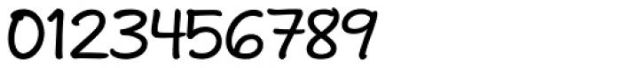 Andrea II Print Upright Medium Font OTHER CHARS