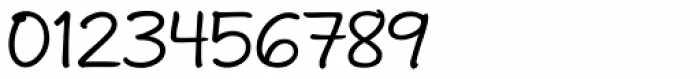 Andrea II Print Upright Font OTHER CHARS