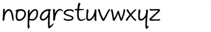 Andrea II Print Upright Font LOWERCASE