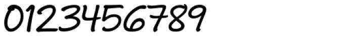 Andrea II Script Slant Medium Font OTHER CHARS