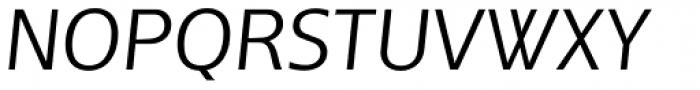 Andrew Samuels Light Italic Font UPPERCASE