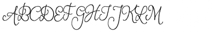 Andria Font UPPERCASE