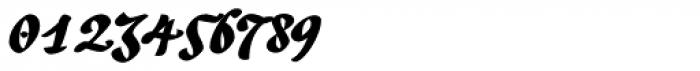 Andrij Script Cyrillic Black Font OTHER CHARS