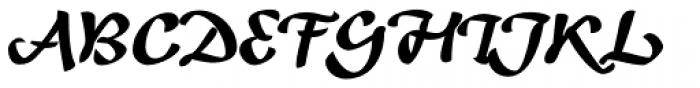 Andrij Script Cyrillic Black Font UPPERCASE