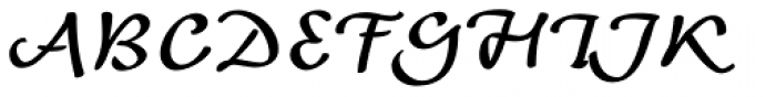 Andrij Script Cyrillic DemiBold Font UPPERCASE