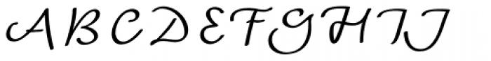 Andrij Script Cyrillic Font UPPERCASE