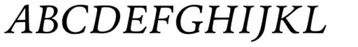 Andron 1 Greek Corpus Italic Font UPPERCASE