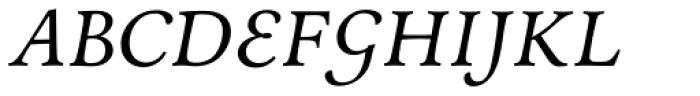 Andron 2 ABC Corpus Italic Font UPPERCASE