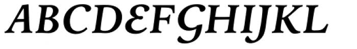 Andron 2 ABC Corpus Semi Bold Italic Font UPPERCASE