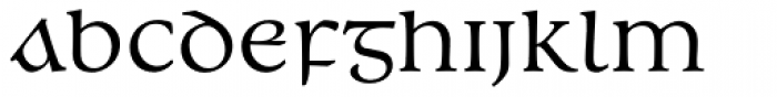 Andron 2 EIR Corpus Middlecase Font LOWERCASE