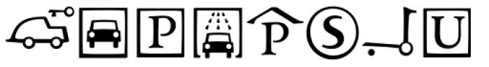 Andron Corpus Publix Transport Font UPPERCASE
