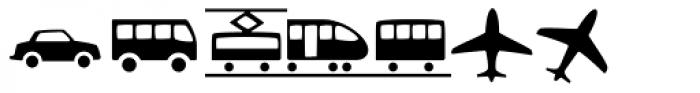 Andron Corpus Publix Transport Font LOWERCASE