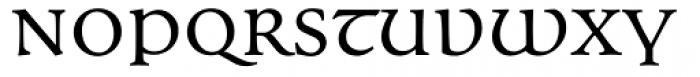 Andron MC Corpus Uncial Font LOWERCASE