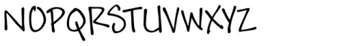 Andy Std Regular Font UPPERCASE