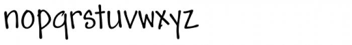 Andy Std Regular Font LOWERCASE