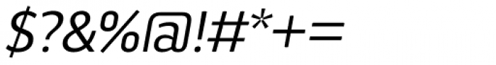 Aneba Neue Italic Font OTHER CHARS