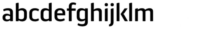 Aneba Neue Medium Font LOWERCASE