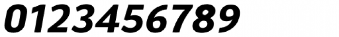 Aneba Neue SemiBold Italic Font OTHER CHARS