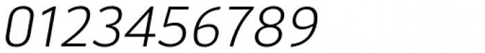 Aneba Neue UltraLight Italic Font OTHER CHARS