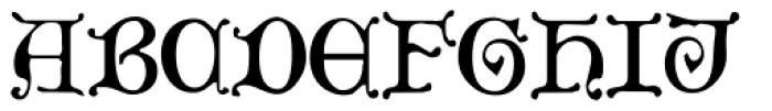 Aneirin Font UPPERCASE