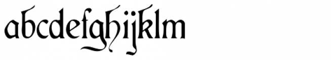 Aneirin Font LOWERCASE