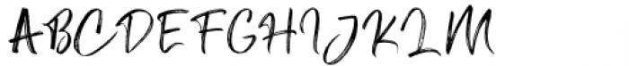 Angel Boos Regular Font UPPERCASE