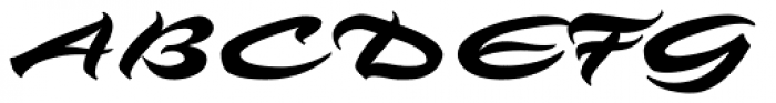 Angel Eyes Font UPPERCASE