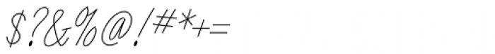 Angel Script Font OTHER CHARS