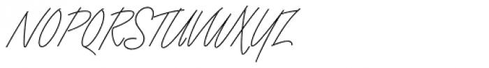 Angel Script Font UPPERCASE
