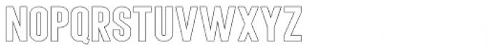 Angela Love Sans Outline Regular Font LOWERCASE